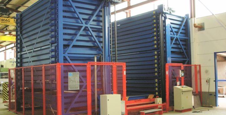 Storage tower (metal plate) | Model 5006